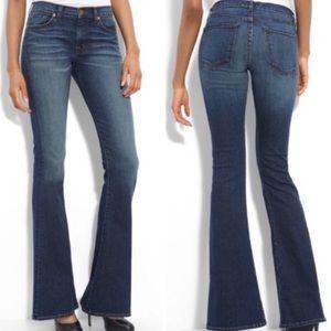J Brand Martini Mayflower Flare Skinny Jeans